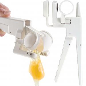 Pinza rompi separa uova in pochi secondi, senza sporcare le mani ottimo utensile da cucina