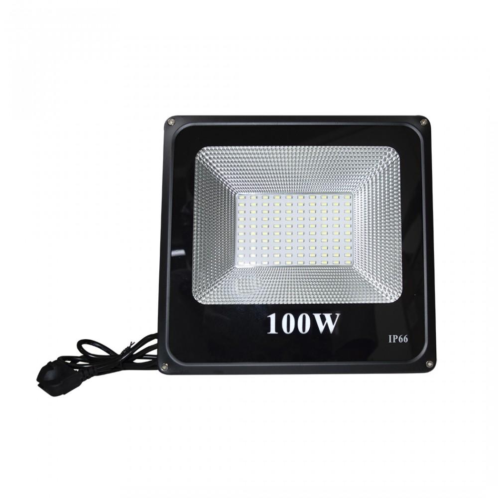 Faro Luce led esterno da muro 100W impermeabile 115844 IP66 6500K luce fredda