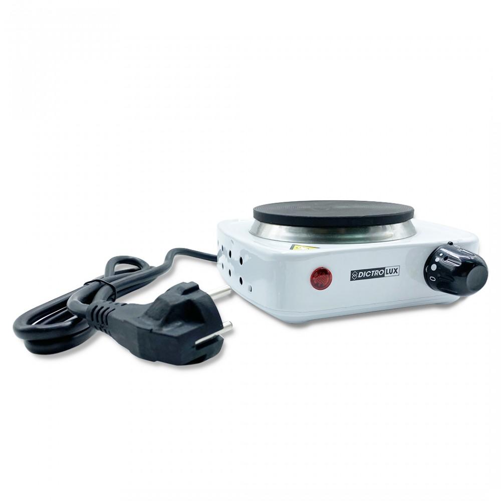Fornello elettrico 1 piastra Dictrolux 619902 ghisa 500W temperatura regolabile