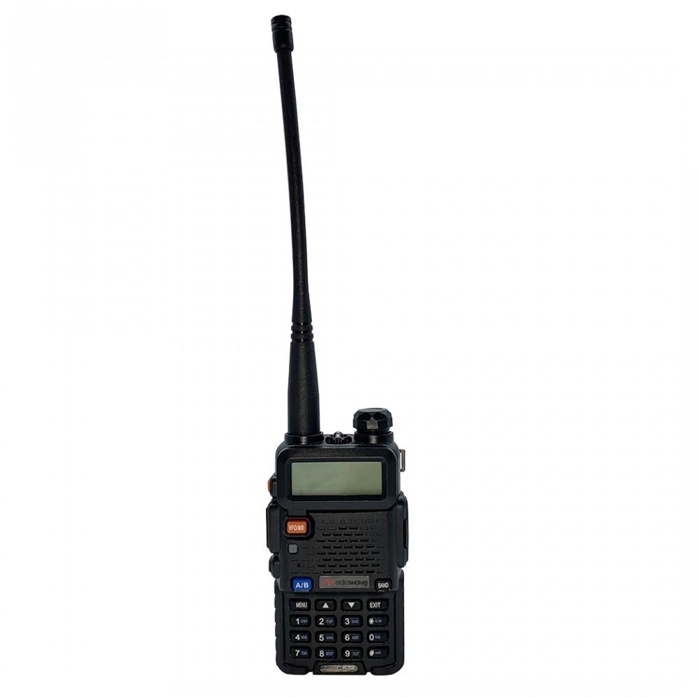 Ricetrasmittente radio dual band FMUV-5R 497135 portatile two way VHF/UHF