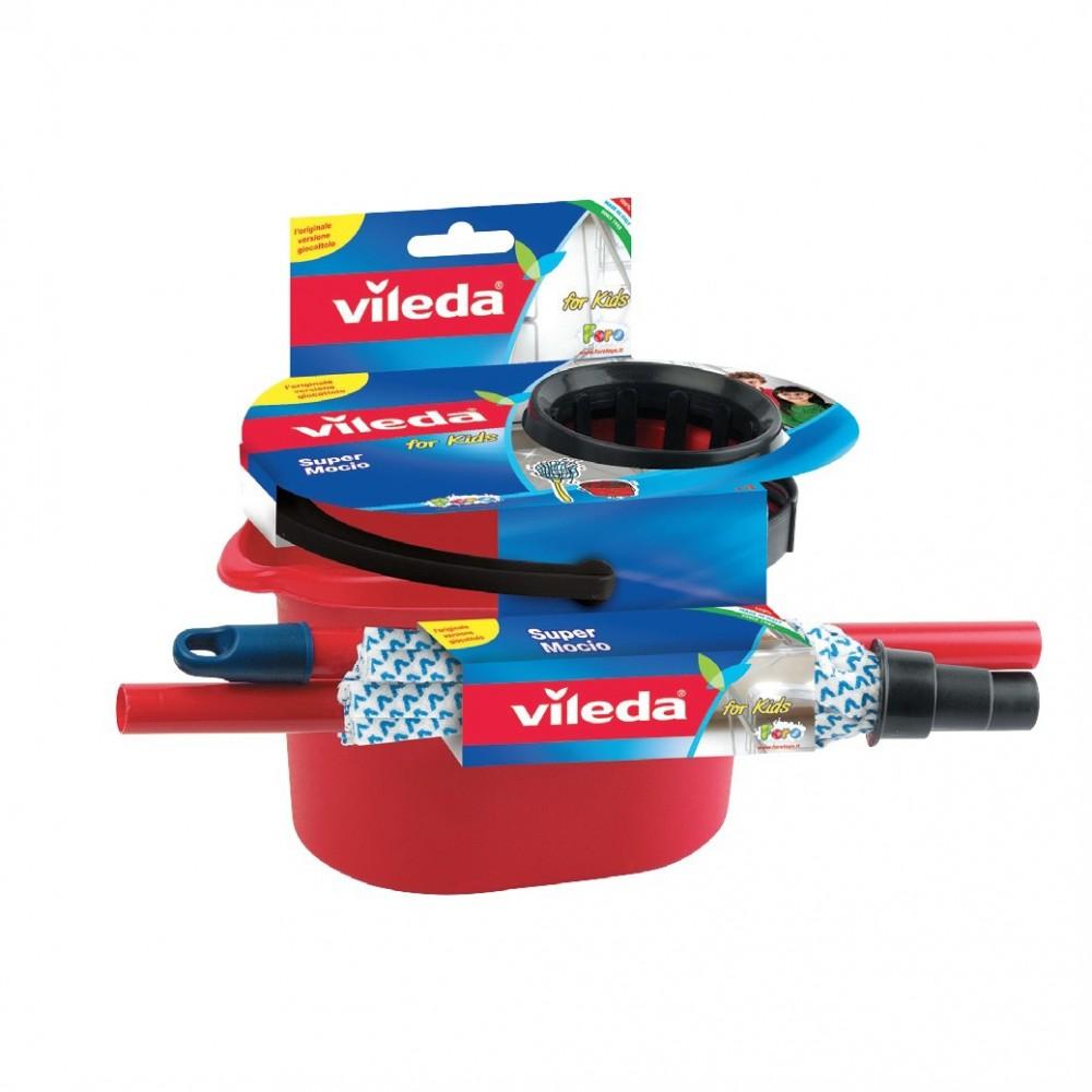 Super mocio Vileda for kids 410578 mini set pulizie giochi per bambini