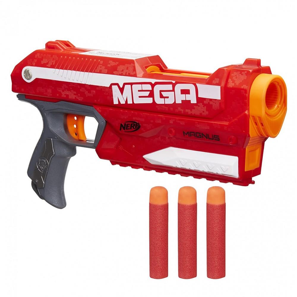 Nerf Mega Magnus 305124 pistola giocattolo bambini lancia dardi oltre i 25 metri
