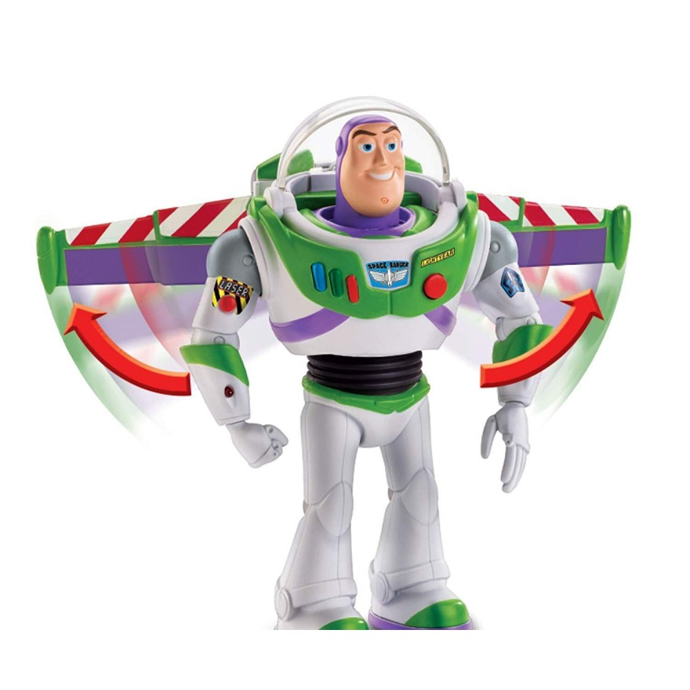 Toy Story 4 personaggio Buzz Lightyear 779271 più di 40 suoni e frasi e laser