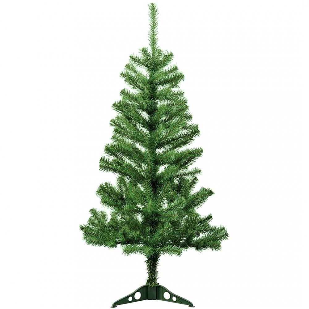 Albero di Natale 150H cm 245005 con 200 rami pieghevoli in PVC abete artificiale