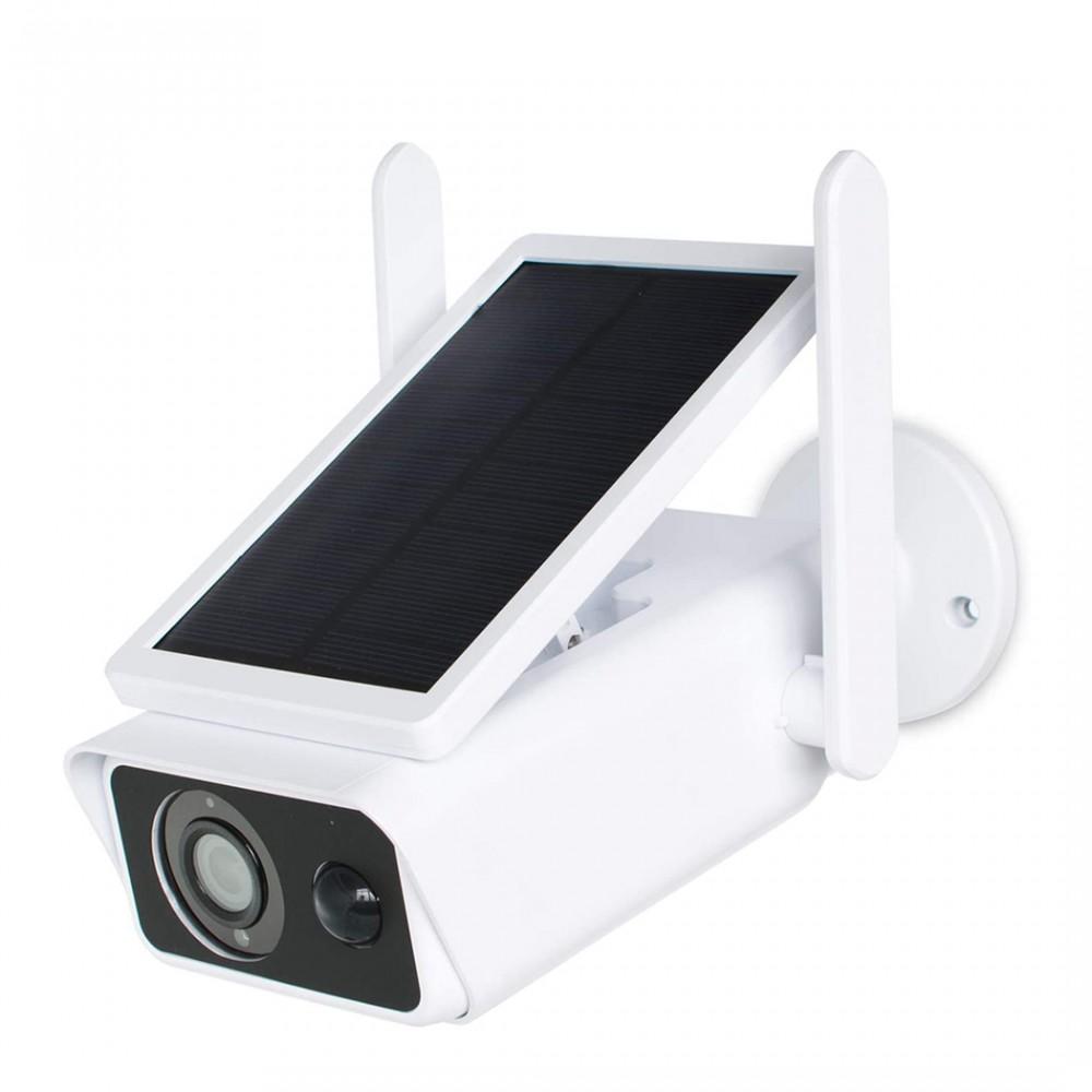 Telecamera ip Wifi 717222 con ricarica solare videocamera CMOS IP66 2MP con app