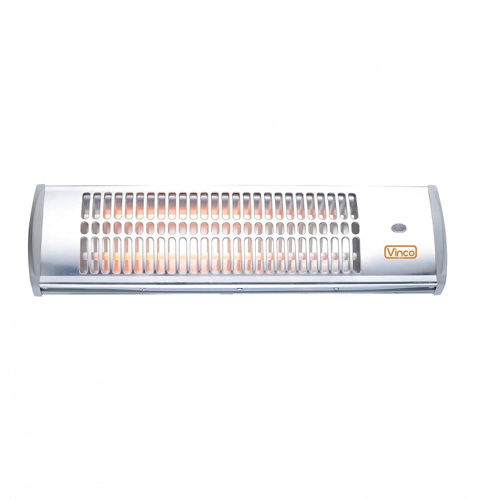 Stufa al quarzo 70150 da parete 1200W VINCO termoventilatore con 2 selezioni