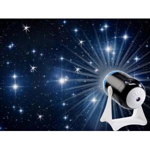 Lampada proiettore di galassie e stelle planetario rotazione 360 gradi