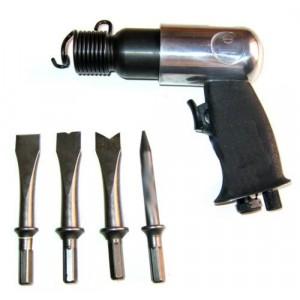 Image of Martello pneumatico scalpello aria compressa + 4 punte 4500 giri/min 8435524507568