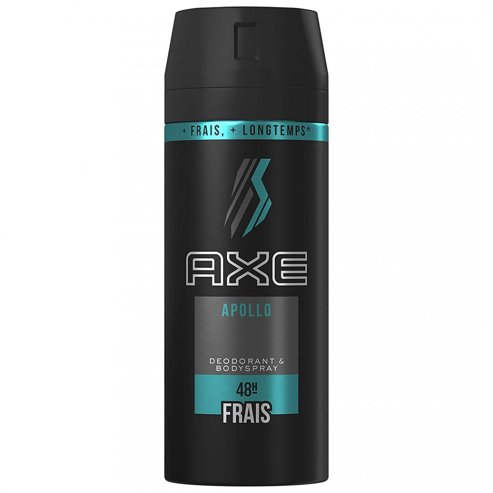 Deodorante maschile AXE Apollo 150ml 218108 con fragranza resistente 48h