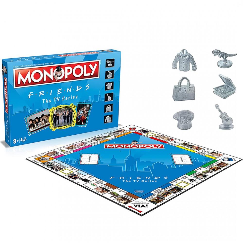 Monopoly Friends serie TV 036498 da 2 a 6 giocatori 40x5x27 cm Winning Moves
