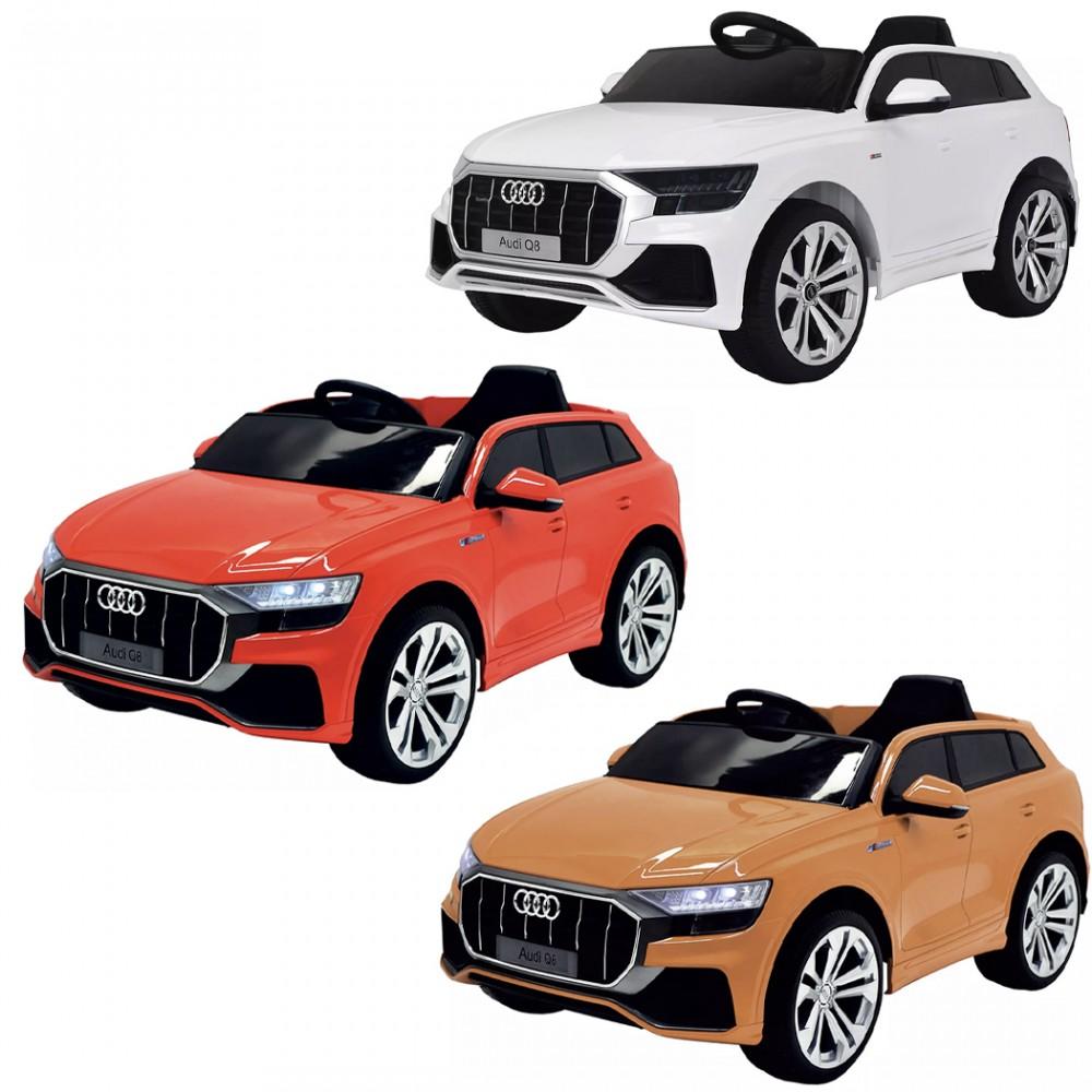 Macchina elettrica per bambini 12V Audi Q8 con display B83577 audio mp3 e luci