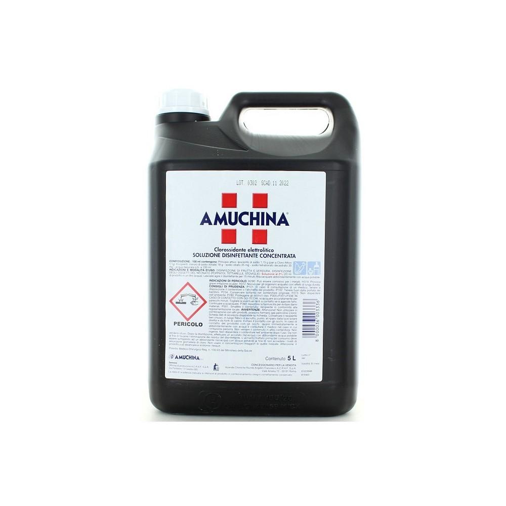 AMUCHINA disinfettante 100% Concentrato 003336 tanica 5 LT professionale