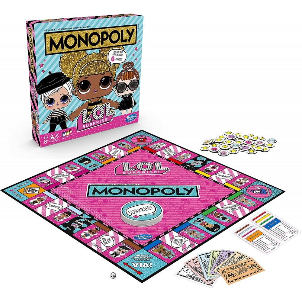 Monopoly edizione da tavolo L.O.L.! surprise 640218 gioco di società