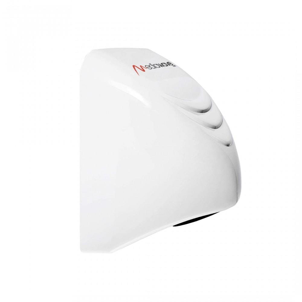 Asciugatrice automatica mani da 1000W da parete colore bianco 14x5xh21,5 cm
