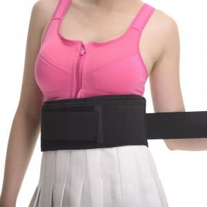 Fascia elastica lombare tutore a corsetto regolabile con stecche per sciatalgia lombalgia