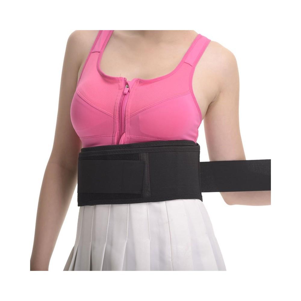 Fascia elastica lombare tutore  regolabile  per sciatalgia lombalgia
