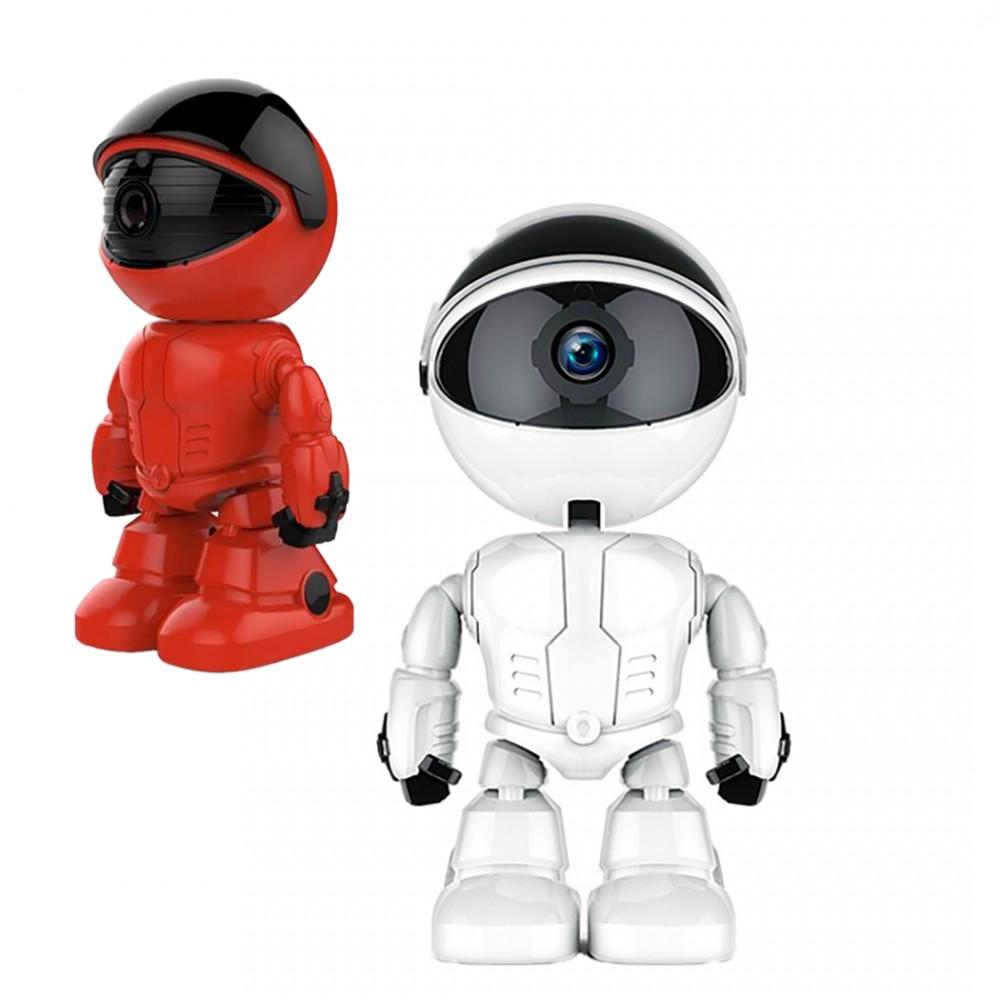 Robot videocamera wifi 2MP 490248 HD 1280x1080 e controllo remoto auto tracking