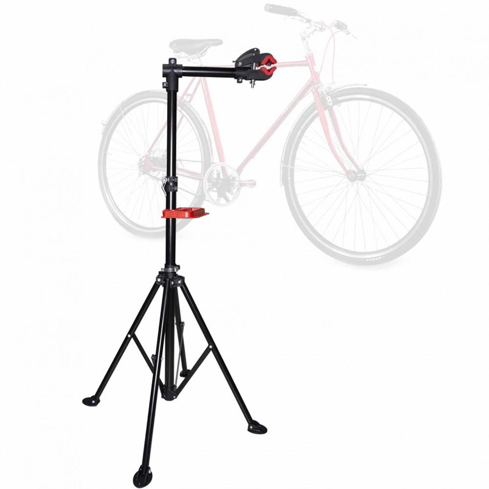 34857 Supporto bici fisso in acciaio da pavimento