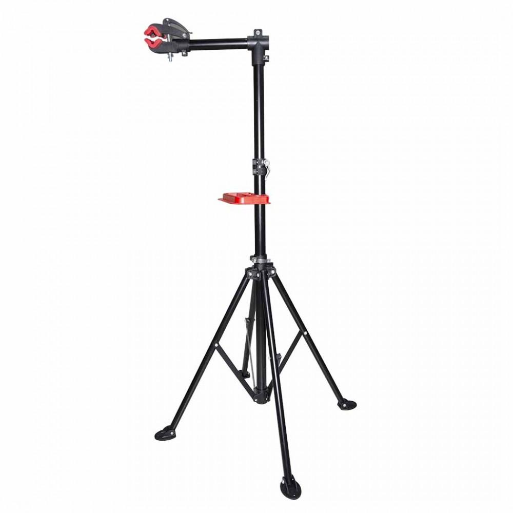 Supporto Cavalletto manutenzione e montaggio bicicletta 584897 con vassoio