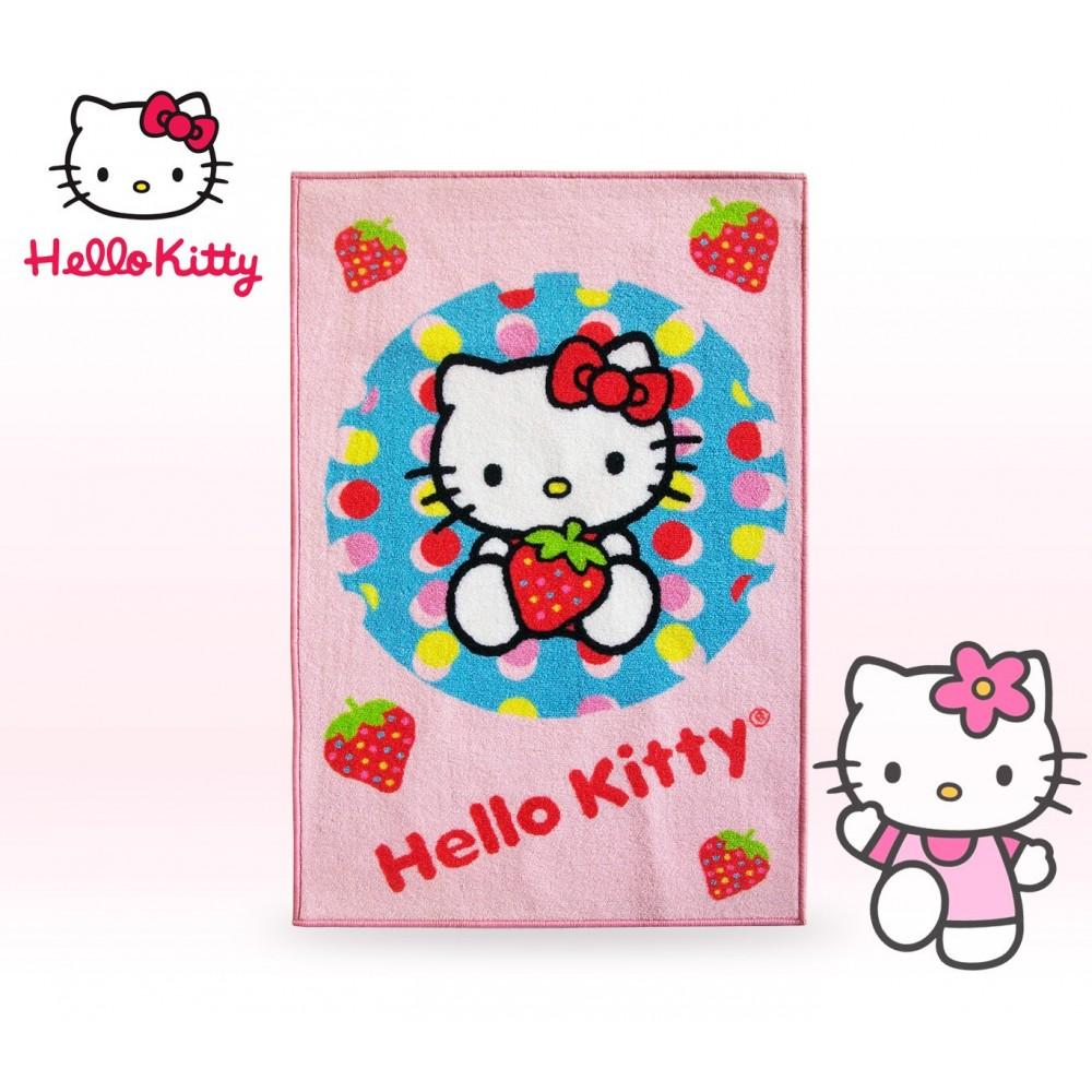 Tappeto Per Camerette Bambini Hello Kitty Varie Fantasie