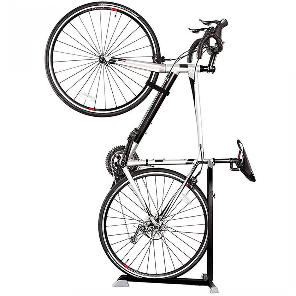 Cavalletto Supporto a T per manutenzione ed espositore biciclette universale