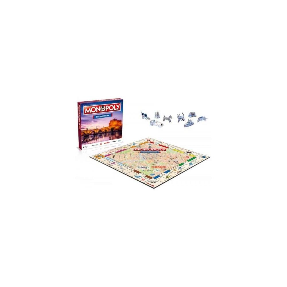 Monopoly edizione città ambientato a ROMA 034173 gioco di società da tavola