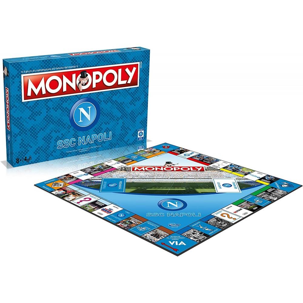Monopoly con licenza ufficiale SSC NAPOLI 037938 gioco di società da tavola