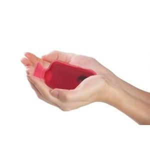 Scaldamani a forma  di mini borsa d'acqua calda utilizzabile all'infinito