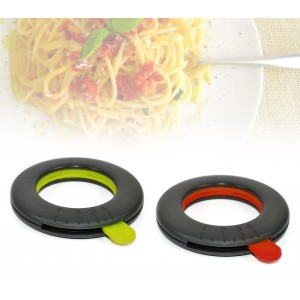 Dosatore per spaghetti di design regolabile da 1 a 4 porzioni misura spaghetti rapido in vari colori