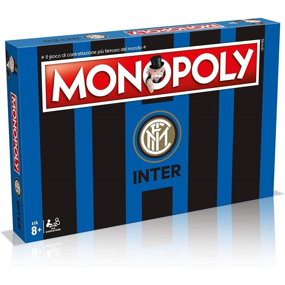 Monopoly Calcio Inter refresh 031493 da collezione gioco di società da tavola