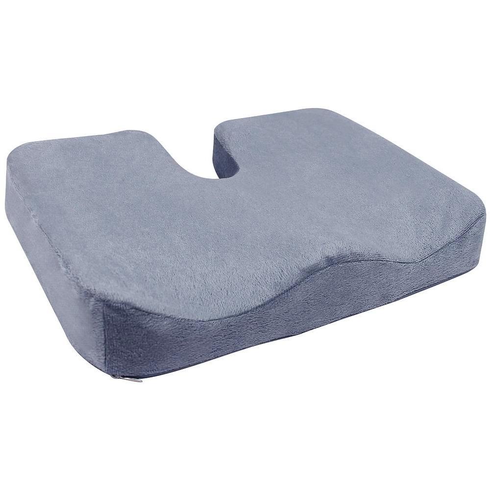 Cuscino ortopedico in gel e memory foam seduta antidecubito e Dolore al Coccige