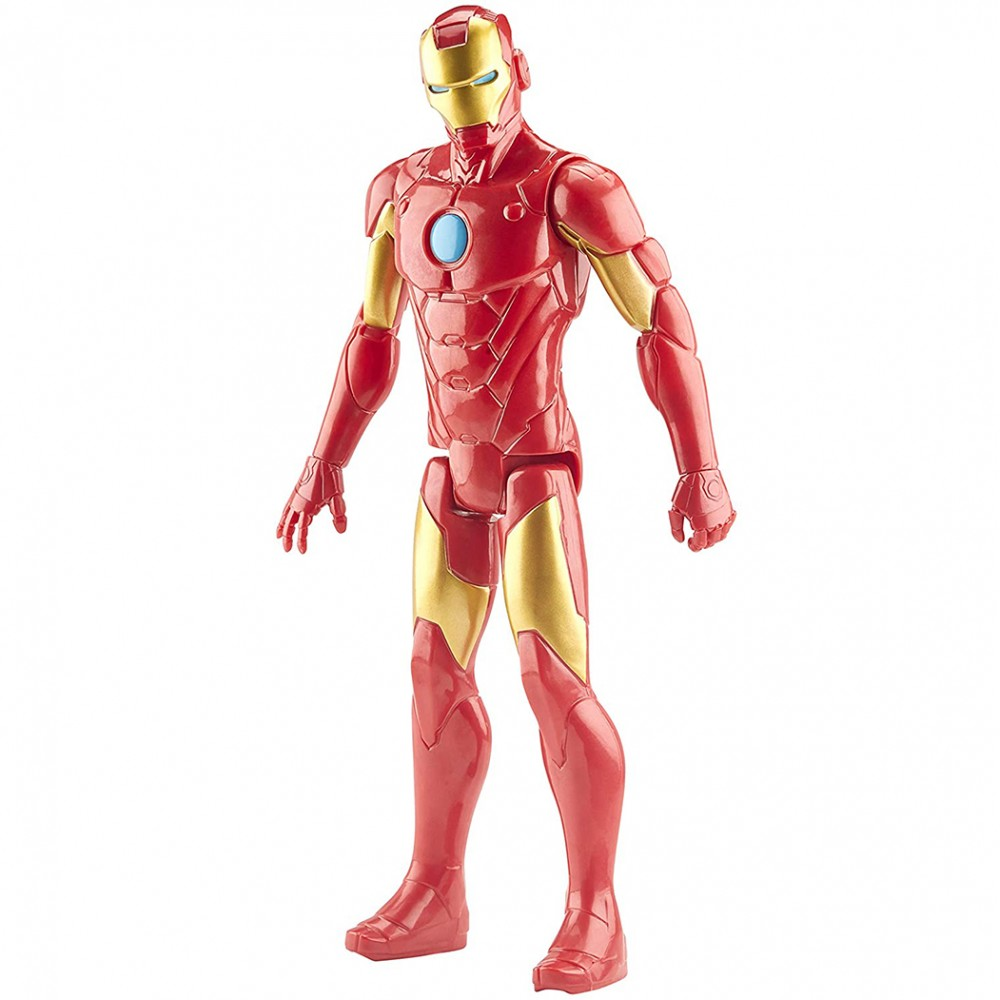 Marvel Avengers Iron Man action figure 30 cm Titan Hero articolazioni snodate