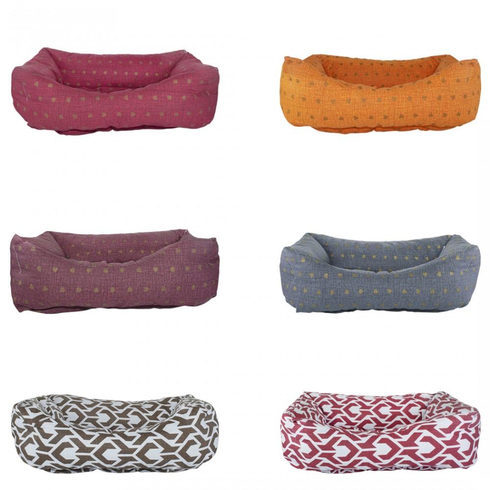 Cuccia morbido cuscino imbottito 551493 per animali taglia piccola 50x30xH18 cm