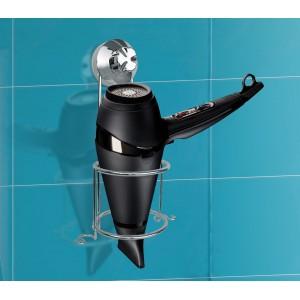 Supporto phon verticale salvaspazio montaggio semplice e senza viti in acciaio solido e resistente