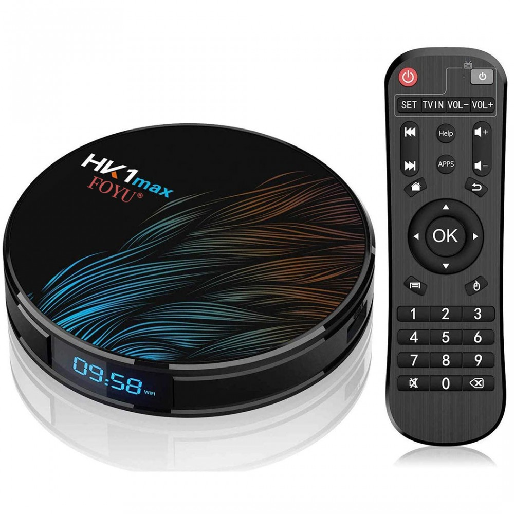 Smart TV box android 10.0 art. 692111 4G Ram+64G Rom Dual band Wifi 2.4G+5.8G