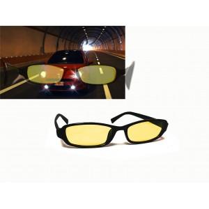 Occhiali antiriflesso visione nottura aumentano la visibilità con luci artificiali e  sole