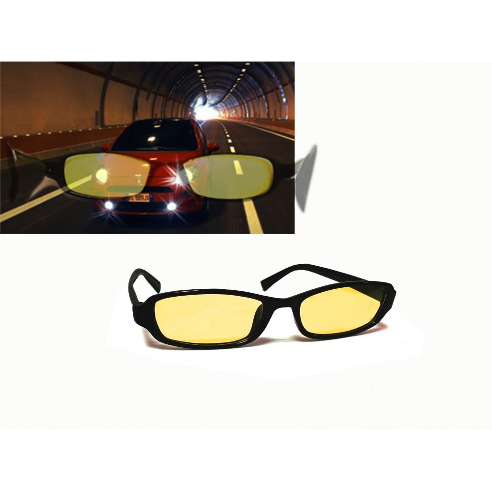 Occhiali antiriflesso visione nottura NIGHT VISION aumentano la visibilità con luci artificiali unisex