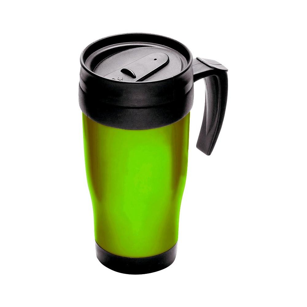 Tazza thermos da viaggio per bevande TRAVEL MUG isolamento doppia barriera