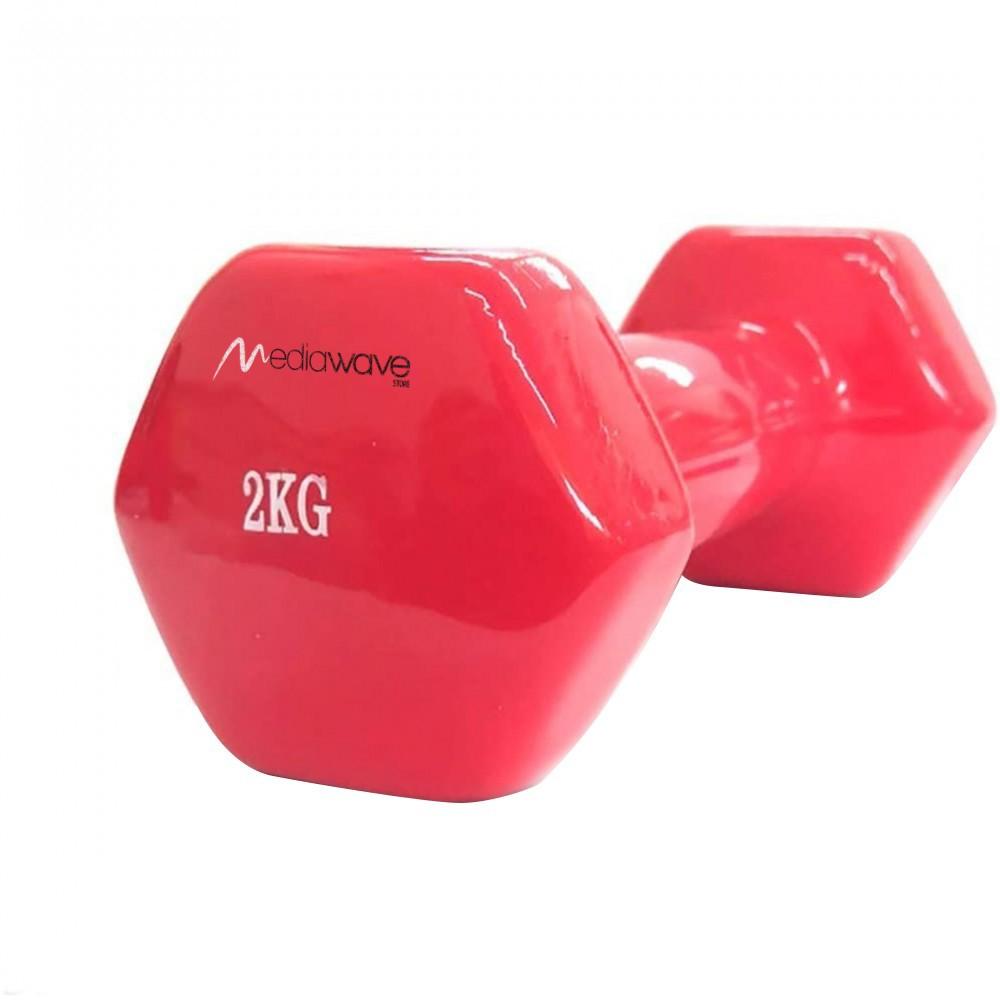 Manubrio in neoprene di 2 kg esercizi 176756 allenamento casa palestra jogging