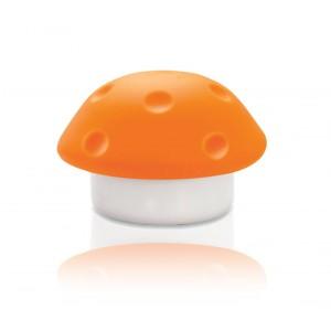 Lampada luce da notte a forma di fungo colorato luce notturna cameretta bambini a 3 led a batteria