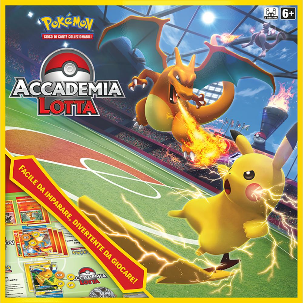 Pokemon Accademia Lotta art. 601187 gioco carte collezionabili edizione Speciale