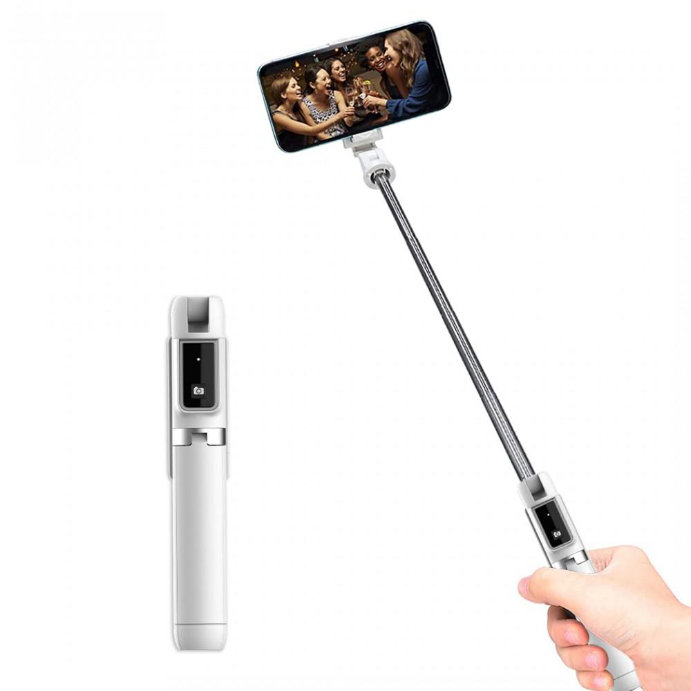 Asta Selfie stick P50 mini wireless treppiede 508257 espandibile con telecomando