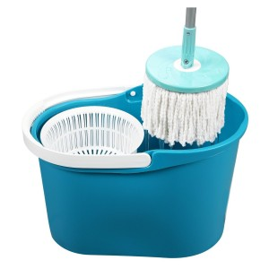 Secchio e mop girevole 360° sisitema puliza innovatico Magic Mop LIFETIME CLEAN