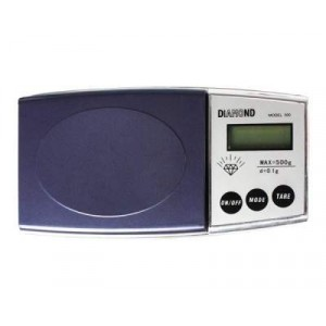 Image of Bilancino digitale di precisione da 1 g a 500 g Diamond tascabile 797337288835