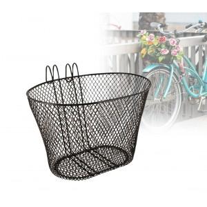 Cestino anteriore per biciclette con struttura a griglia in ferro modello Rooster universale di facile montaggio