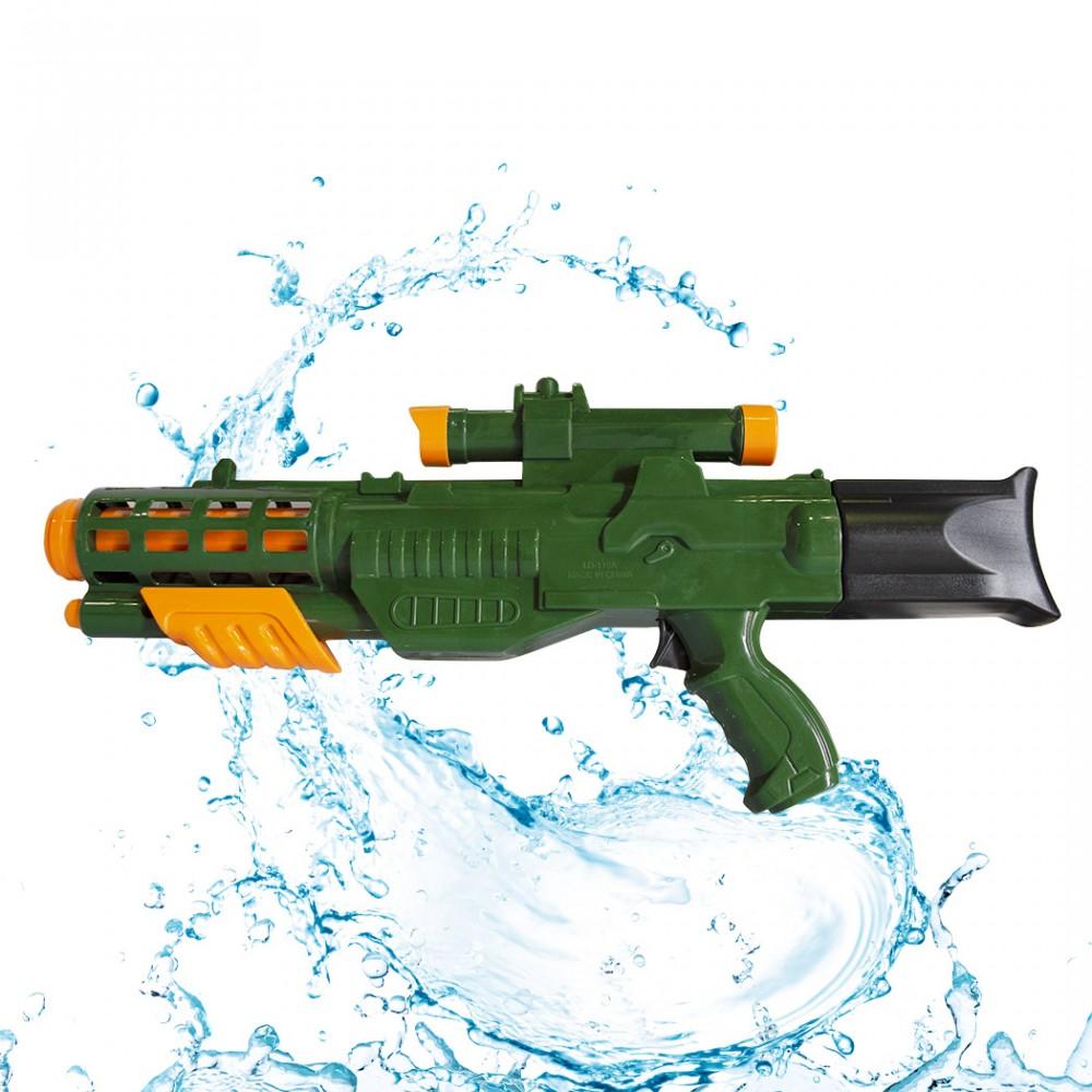 Fucile ad Acqua Giocattolo per Bambini 557266 lunga gittata Colore Verde 58 cm