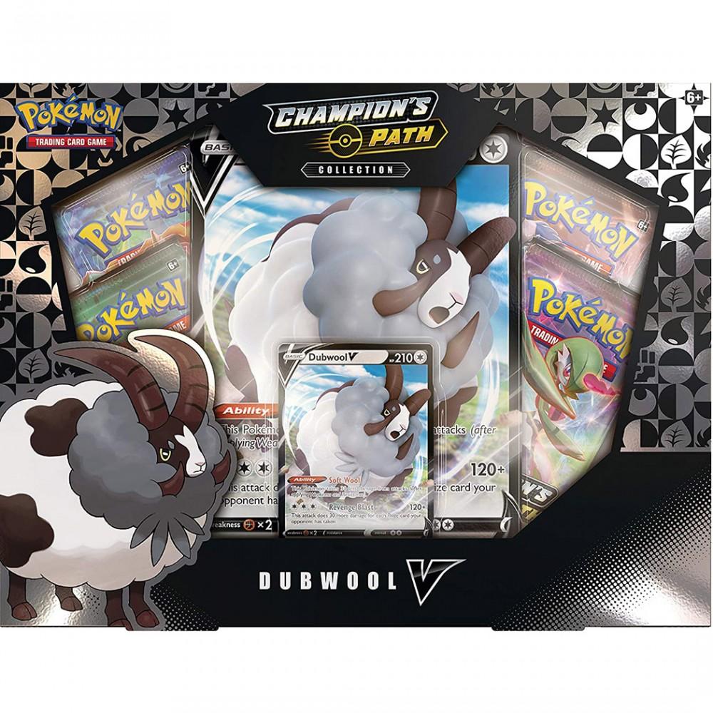 Carte collezionabili Pokemon Futuri Campioni 601064 Collezione Dubwool-V