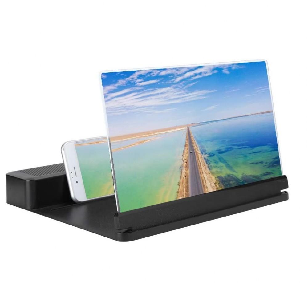 Lente Ingrandimento 945126 Cornice Zoom 26x per Schermo Smartphone con Bluetooth
