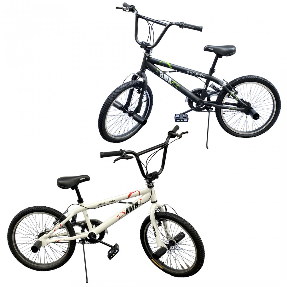 Bicicletta BMX SPOKES WHEEL FreeStyle taglia 20 Bici Telaio in Acciaio Jumper