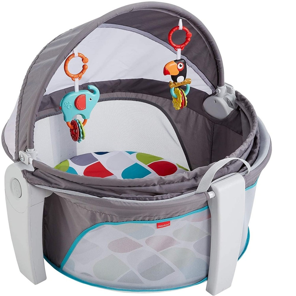 Fisher Price Baby Gear Mini Lettino Box Neonati Portatile da Interno e Esterno